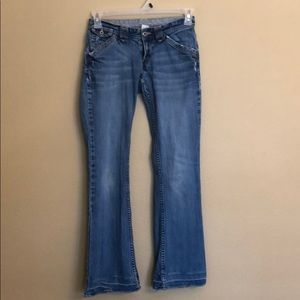 Lucky Brand Distressed Boot Cut Jeans 2/26